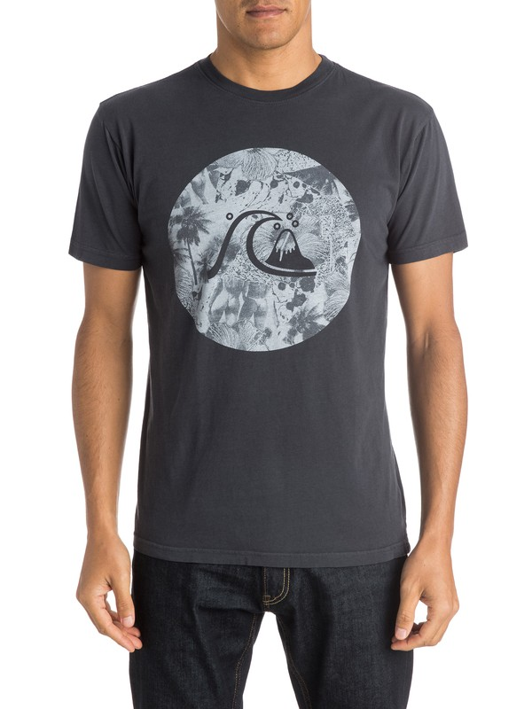 0 Never Work T-Shirt  AQYZT04021 Quiksilver