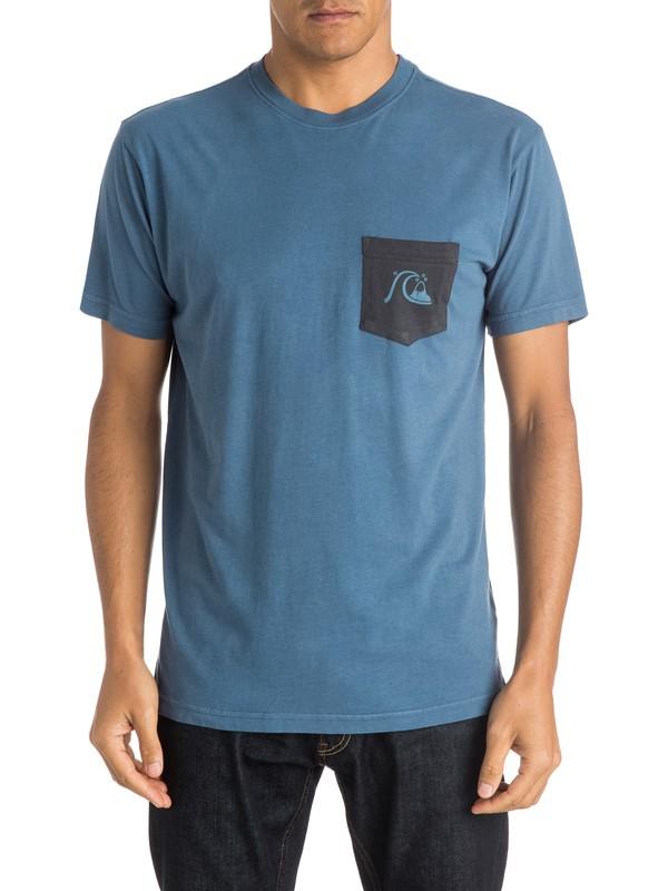 0 Zig Zag - Pocket T-Shirt  AQYZT04027 Quiksilver