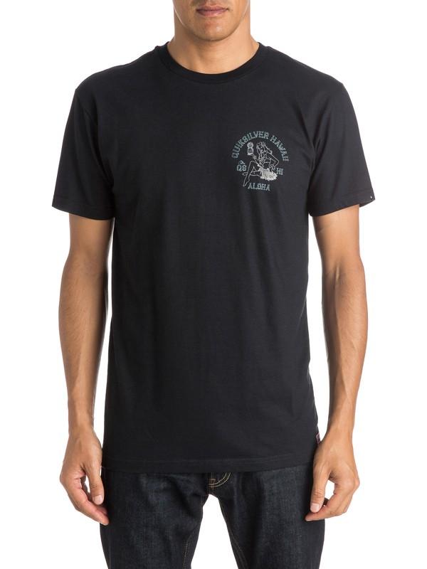0 Hula Pineskull - T-Shirt  AQYZT04055 Quiksilver