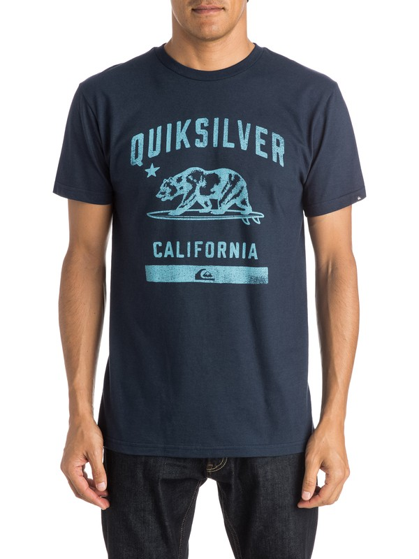 0 CA Bear T-Shirt  AQYZT04057 Quiksilver