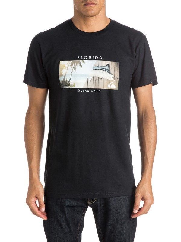 0 Boarding Pass FL - T-Shirt  AQYZT04058 Quiksilver
