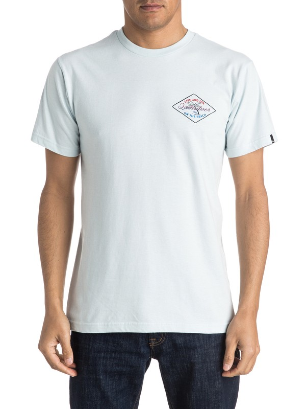 0 On The Beach Tee  AQYZT04099 Quiksilver