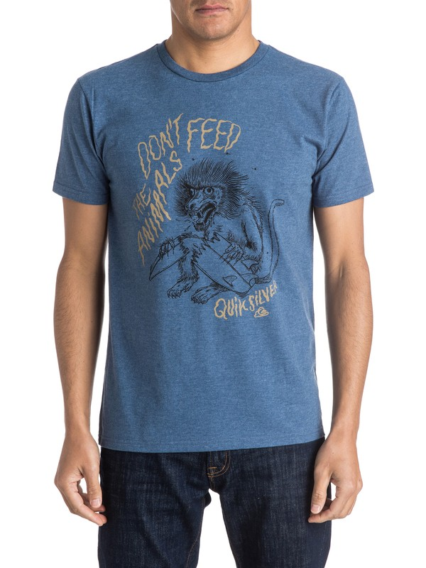 0 Baboon Trouble Tee  AQYZT04124 Quiksilver