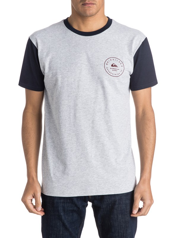 0 Camiseta Badge  AQYZT04125 Quiksilver