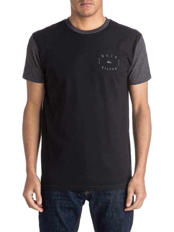 0 Round Tail Tee  AQYZT04127 Quiksilver