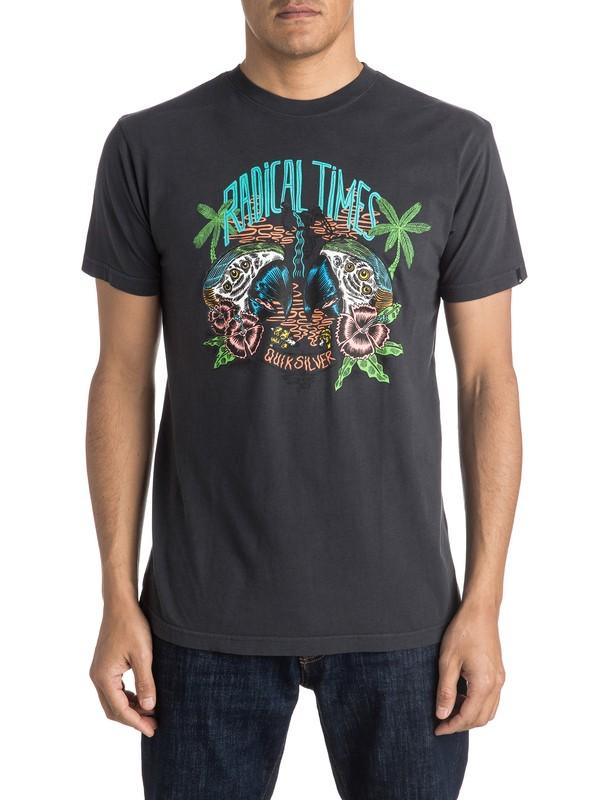0 Camiseta Psycho Perro  AQYZT04134 Quiksilver