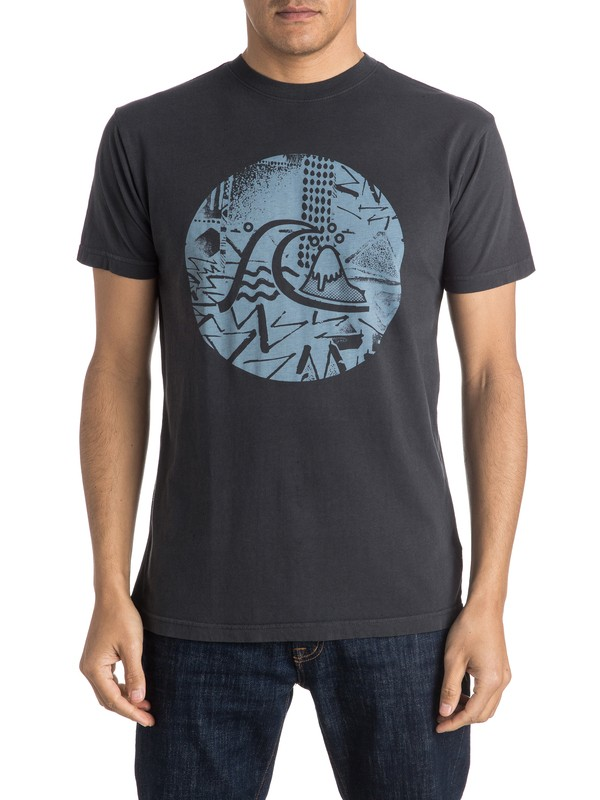0 Labyrinth Logo Tee  AQYZT04139 Quiksilver