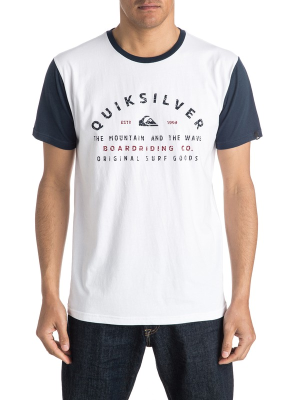 0 Camiseta North Point  AQYZT04302 Quiksilver