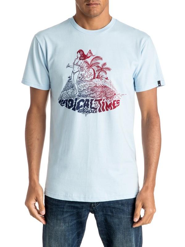 0 Camiseta Crocoride  AQYZT04410 Quiksilver