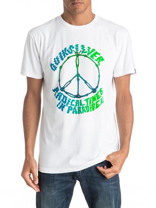 0 Peace Skull - T-Shirt  AQYZT04411 Quiksilver
