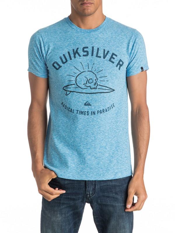 0 Skull Surfing Mh7 - T-Shirt  AQYZT04425 Quiksilver