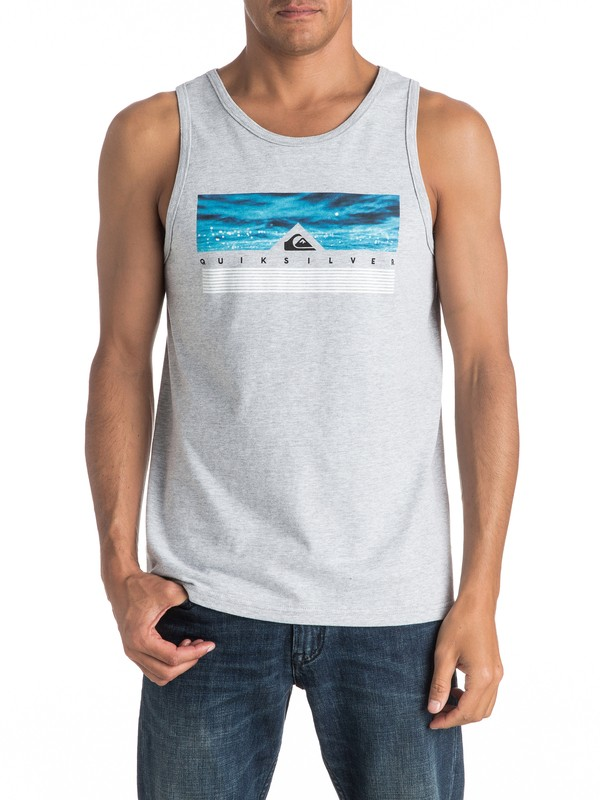 0 Camiseta Tipo Tank Jungle Box  AQYZT04458 Quiksilver