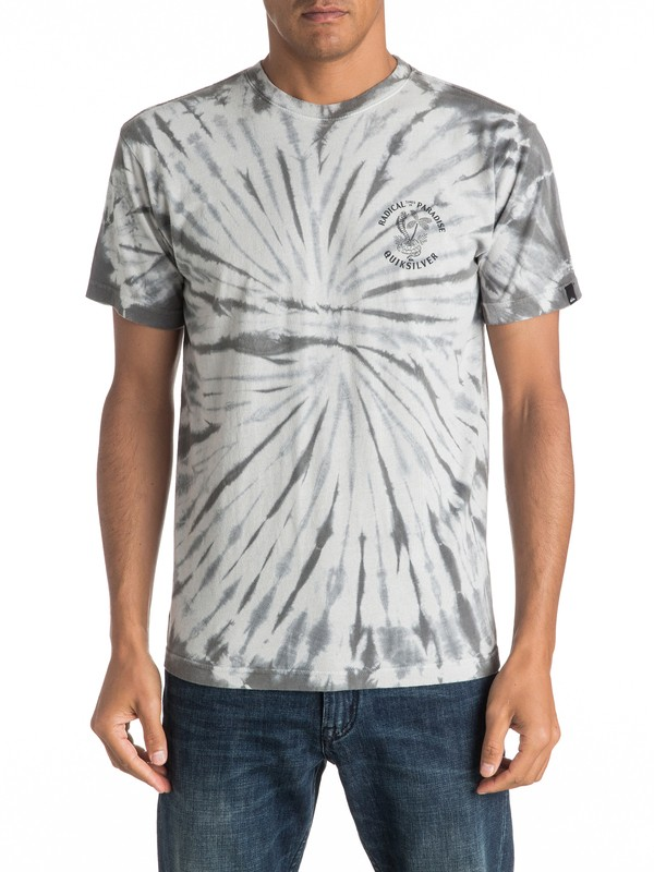 0 Off The Block Spiral Tee  AQYZT04459 Quiksilver