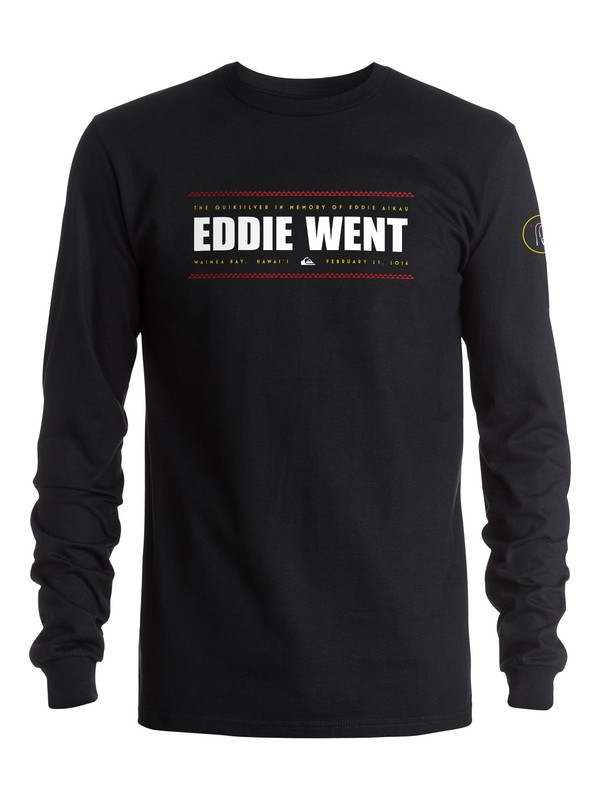 0 Eddie Went 2016 Long Sleeve Tee  AQYZT04518 Quiksilver