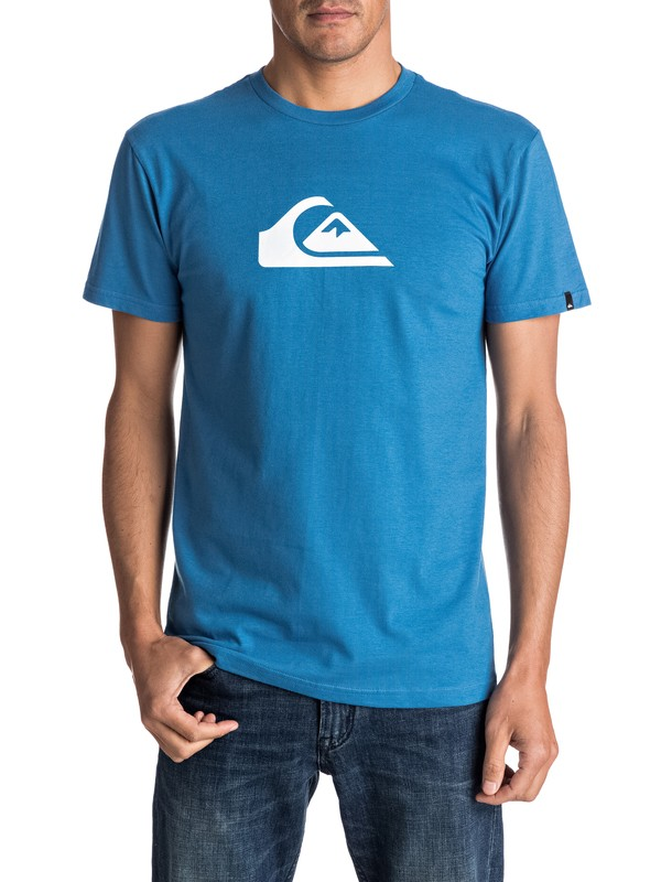 0 Mountain Wave Logo Tee  AQYZT04553 Quiksilver