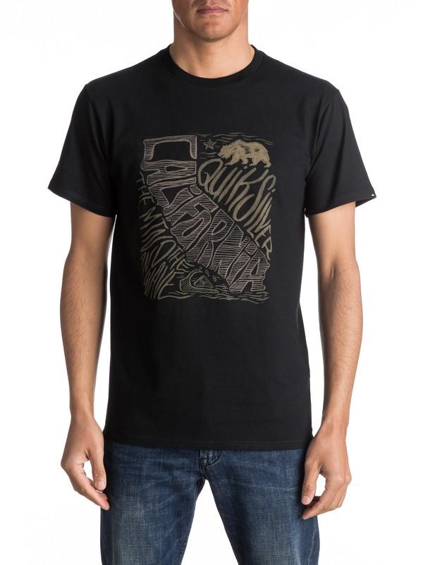 0 Camiseta Cali Coast  AQYZT04588 Quiksilver