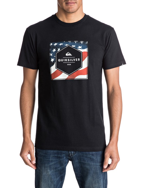 0 Camiseta Stars And Stripes  AQYZT04598 Quiksilver