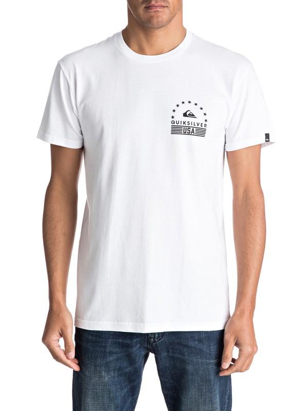 0 Camiseta Peace Palms  AQYZT04600 Quiksilver