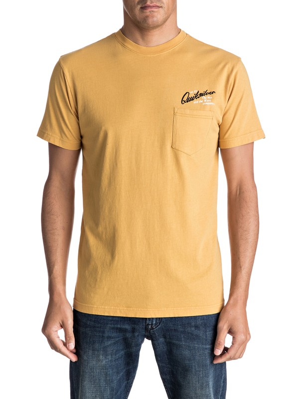 0 Melted Wax Tee  AQYZT04604 Quiksilver