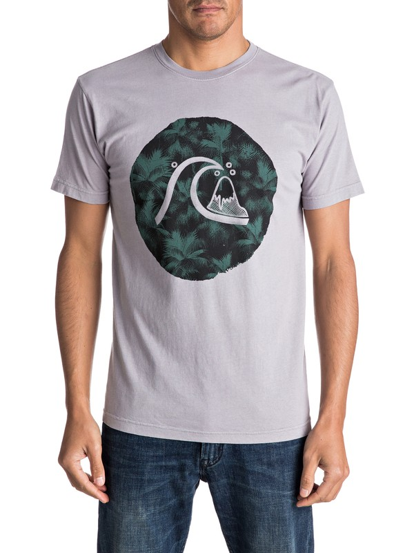 0 Palm Bubble Tee  AQYZT04609 Quiksilver