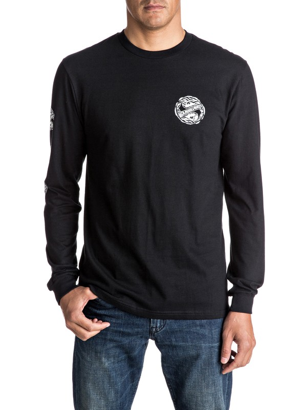 0 Tribe Tribe Long Sleeve Tee  AQYZT04614 Quiksilver