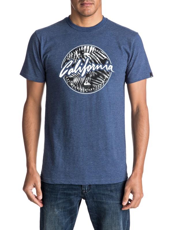 0 California Circle - T-Shirt  AQYZT04617 Quiksilver