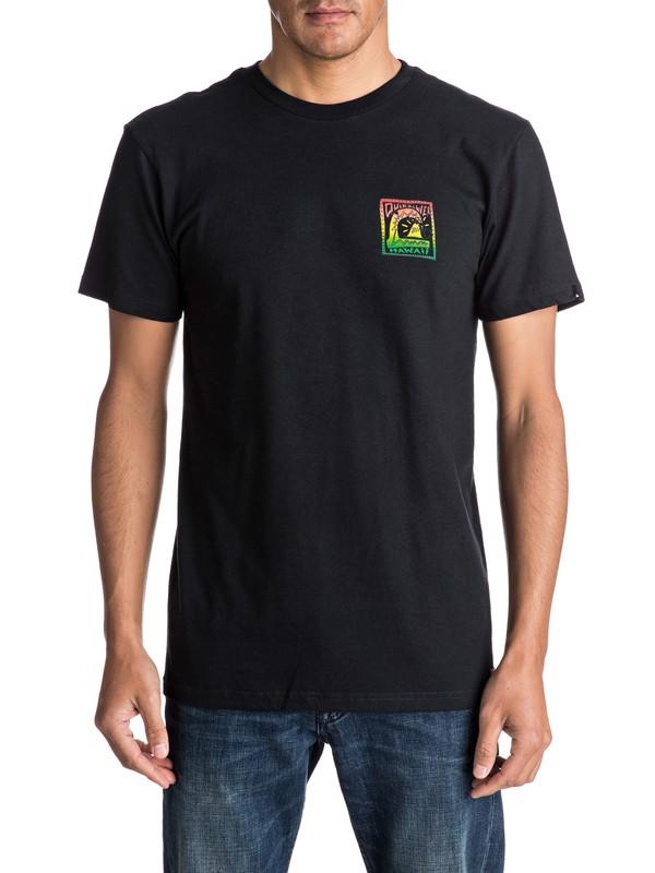 0 Camiseta Fluro Hawaii  AQYZT04652 Quiksilver