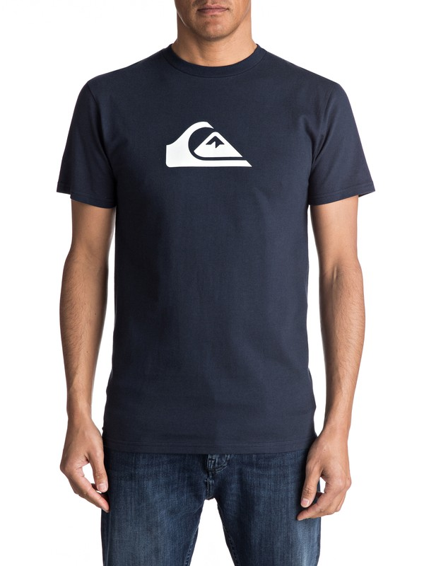 0 Mountain Wave Classic Tee Blue AQYZT04731 Quiksilver