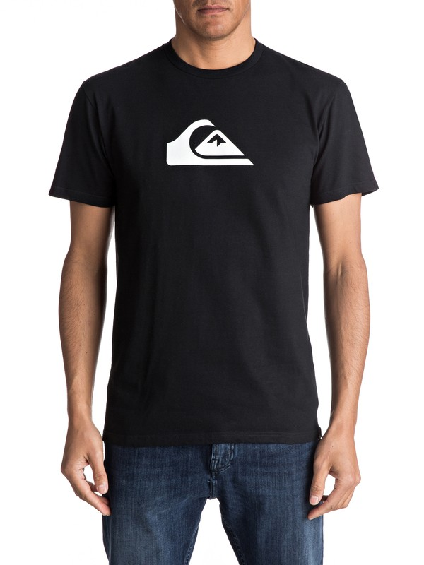 0 Mountain Wave Classic Tee Black AQYZT04731 Quiksilver