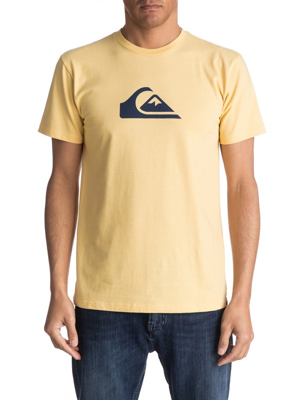 0 Mountain Wave Classic Tee Yellow AQYZT04731 Quiksilver