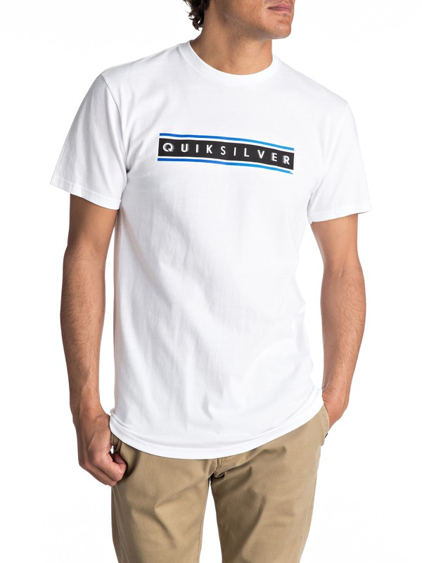 0 Daily Surf Tee White AQYZT04734 Quiksilver