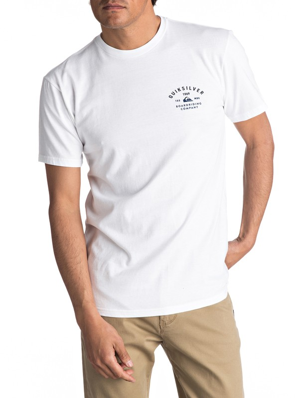 0 Amsberry Tee White AQYZT04744 Quiksilver