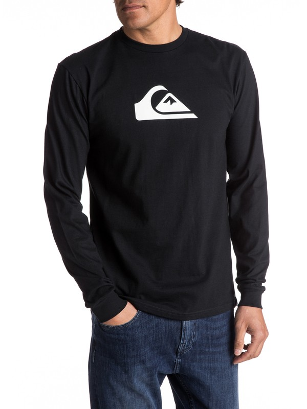 0 Mountain And Wave Long Sleeve Tee  AQYZT04772 Quiksilver