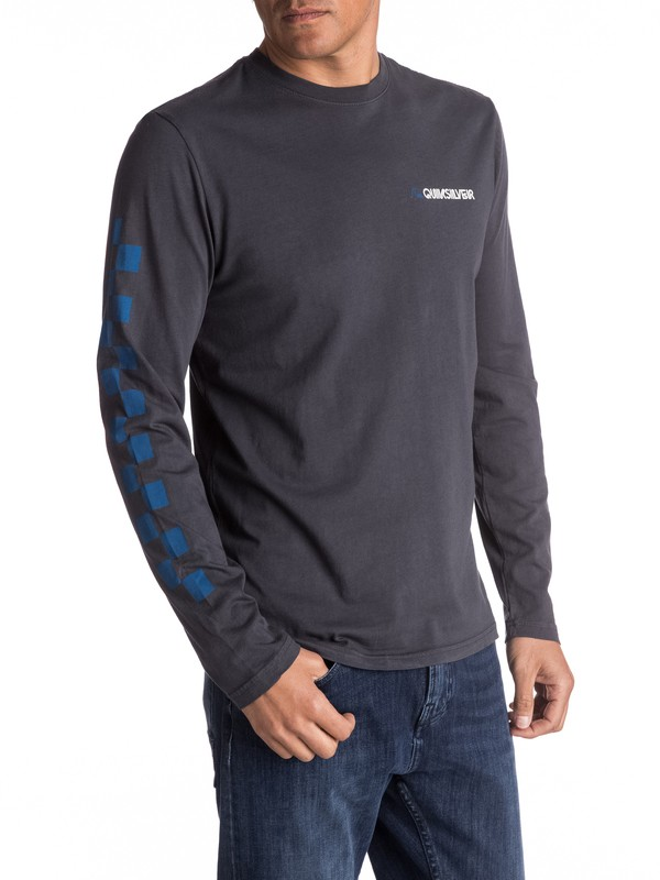 0 Past And Present Long Sleeve Tee  AQYZT04787 Quiksilver