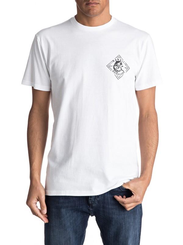 0 Yellow Fish - T-Shirt  AQYZT04817 Quiksilver