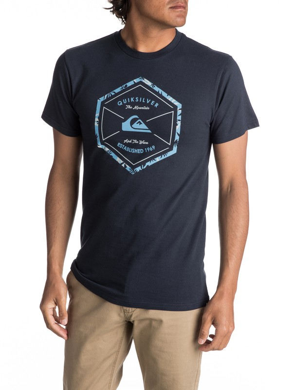 0 Men's Octa Logo Tee  AQYZT04982 Quiksilver