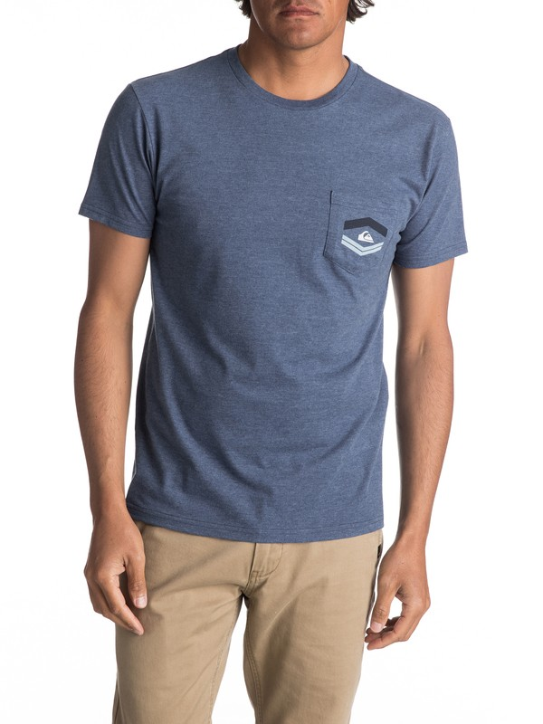 0 Hombres Camiseta  Friendly Fire  AQYZT04992 Quiksilver