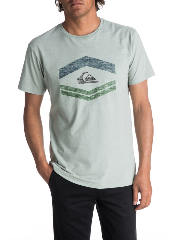 0 Men's Friendly Fire Tee  AQYZT05001 Quiksilver