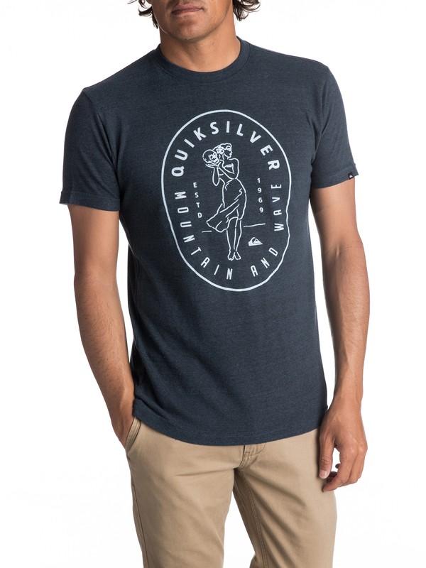 0 Hombres Camiseta  Shipstown  AQYZT05012 Quiksilver