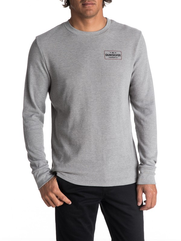 0 Men's Detention Long Sleeve Thermal  AQYZT05050 Quiksilver
