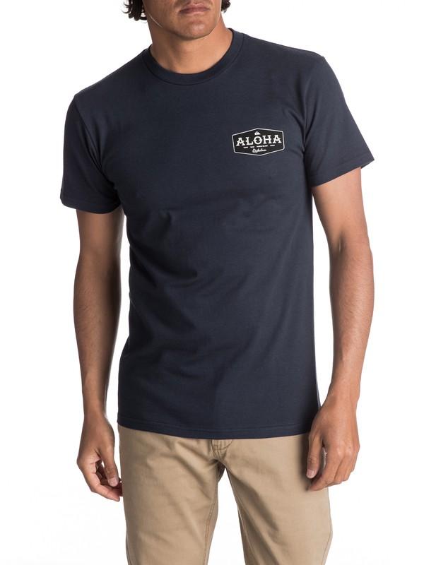 0 Men's Aloha Bound Tee  AQYZT05053 Quiksilver