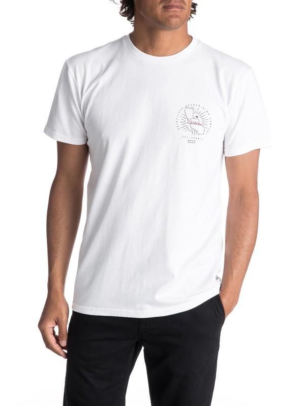 0 Hombres Camiseta  Cali Burst  AQYZT05071 Quiksilver