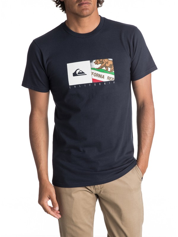 0 Men's California Coast Tee  AQYZT05075 Quiksilver