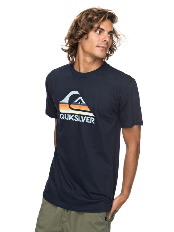 0 Waves Ahead Tee  AQYZT05129 Quiksilver