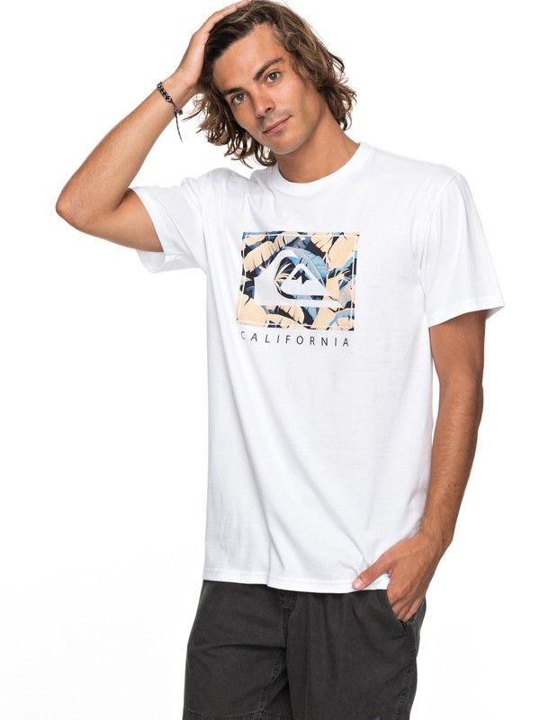 0 City Pacific Tee  AQYZT05142 Quiksilver
