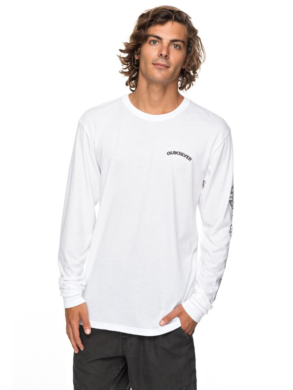 0 Next Steps Technical Long Sleeve Tee  AQYZT05232 Quiksilver