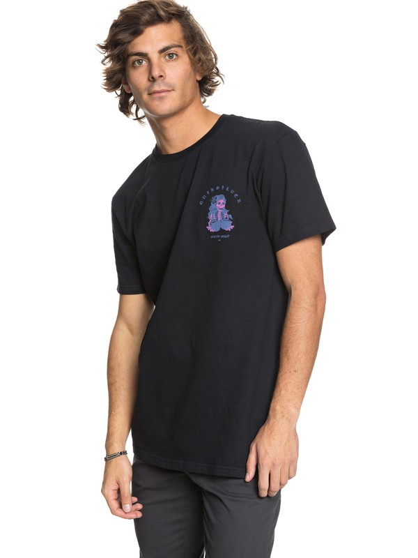 0 Coconut Power Tee Black AQYZT05408 Quiksilver