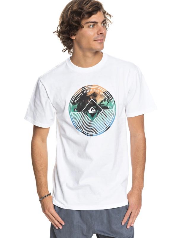 0 Gradient Palm - T-Shirt  AQYZT05413 Quiksilver