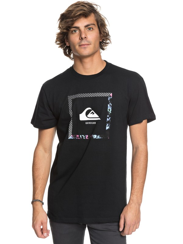 0 Beat The Heat Tee Black AQYZT05416 Quiksilver