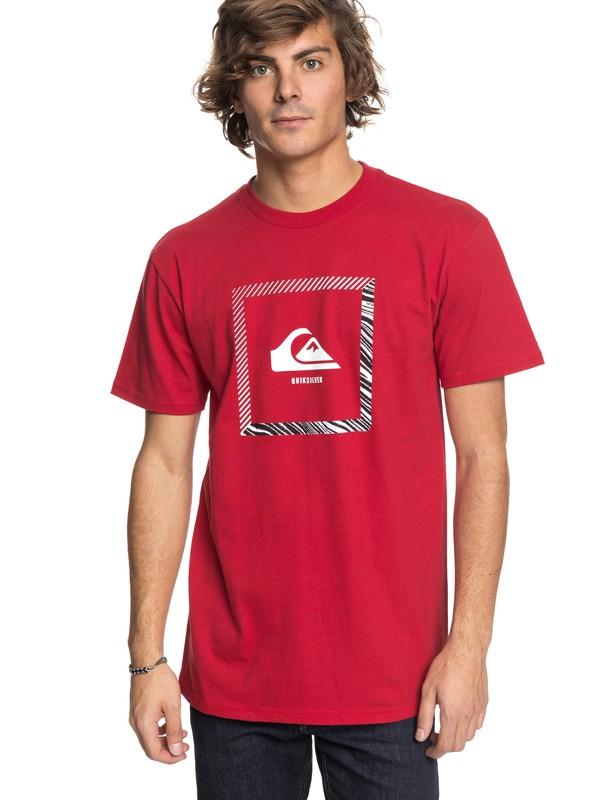 0 Beat The Heat - T-Shirt Red AQYZT05416 Quiksilver